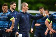 22 May 2018; Leinster senior coach Stuart Lancaster during Leinster Rugby squad training at UCD in Belfield, Dublin. Photo by Sam Barnes/Sportsfile