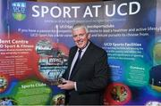 22 May 2018; Tony Sheridan, UCD Men's Soccer Club, pictured with the The Bank of Ireland Graduate of the Year award at the Bank of Ireland AUC Sports Awards 2018 at UCD in Dublin. Photo by David Fitzgerald/Sportsfile