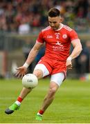 20 May 2018; Pádraig Hampsey of Tyrone during the Ulster GAA Football Senior Championship Quarter-Final match between Tyrone and Monaghan at Healy Park in Tyrone. Photo by Oliver McVeigh/Sportsfile