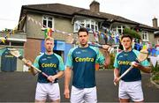24 May 2018; Centra, proud sponsor of the GAA Hurling All-Ireland Senior Championship for the last eight years, today released their #WeAreHurling survey results, which showcase the importance of our national sport and the role it plays in communities across the country. Centra's #WeAreHurling campaign celebrates the passion displayed by those in Ireland's collective hurling community and shines a light on those who devote their lives to the game, helping to make our national sport a pillar of Irish pride. In attendance are Centra Ambassadors, from left, Cian Lynch of Limerick, Gearoid McInerney of Galway and Lee Chin of Wexford during the Centra Hurling Media Launch at Glasnevin, Co Dublin. Photo by Sam Barnes/Sportsfile