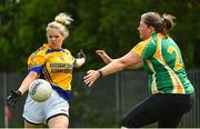 26 May 2018; Action from Baxter Healthcare, Castlebar, Co. Mayo, against Irish Prison Service during the LGFA Interfirms Blitz 2018 at Naomh Mearnóg GAA Club, Portmarnock, Dublin. This year seven companies competed for the top prize, while nine teams signed up to take part in a recreational blitz. Photo by Seb Daly/Sportsfile