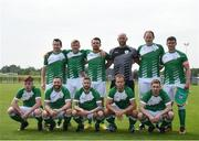 26 May 2018; The Ireland team prior to the European Deaf Sport Organization European Championships third qualifying round match between Ireland and Sweden at the FAI National Training Centre in Abbotstown, Dublin. Photo by Stephen McCarthy/Sportsfile
