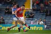 26 May 2018; Luke Connolly of Cork in action against Alan Campbelll of Tipperary during the Munster GAA Football Senior Championship semi-final match between Tipperary and Cork at Semple Stadium in Thurles, County Tipperary. Photo by Eóin Noonan/Sportsfile