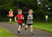 27 May 2018; parkrun Ireland in partnership with Vhi, expanded their range of junior events to thirteen with the introduction of the Cobh junior parkrun on Sunday morning. Junior parkruns are 2km long and cater for 4 to 14 year olds, free of charge providing a fun and safe environment for children to enjoy exercise. Pictured is Luke Tabb, age 4, from Cobh, Cork. Photo by Eóin Noonan/Sportsfile