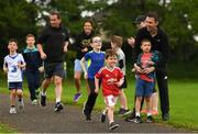 27 May 2018; parkrun Ireland in partnership with Vhi, expanded their range of junior events to thirteen with the introduction of the Cobh junior parkrun on Sunday morning. Junior parkruns are 2km long and cater for 4 to 14 year olds, free of charge providing a fun and safe environment for children to enjoy exercise. Pictured is Evan Power, age 4, from Cobh, Cork. Photo by Eóin Noonan/Sportsfile