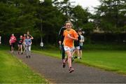 27 May 2018; Parkrun Ireland in partnership with Vhi, expanded their range of junior events to thirteen with the introduction of the Cobh junior parkrun on Sunday morning. Junior parkruns are 2km long and cater for 4 to 14 year olds, free of charge providing a fun and safe environment for children to enjoy exercise. Pictured is Éadaoin Farrell, age 10, from Cobh, Cork. Photo by Eóin Noonan/Sportsfile