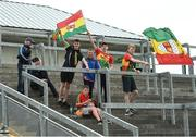 27 May 2018; Carlow supporters prior to the Leinster GAA Football Senior Championship Quarter-Final match between Carlow and Kildare at O'Connor Park in Tullamore, Offaly. Photo by Matt Browne/Sportsfile