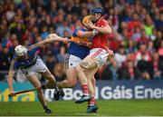 27 May 2018; Conor Lehane of Cork is tackled by Padraic Maher of Tipperary during the Munster GAA Hurling Senior Championship Round 2 match between Tipperary and Cork at Semple Stadium in Thurles, Tipperary. Photo by Eóin Noonan/Sportsfile