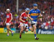 27 May 2018; John McGrath of Tipperary in action against Seán O'Donoghue of Cork during the Munster GAA Hurling Senior Championship Round 2 match between Tipperary and Cork at Semple Stadium in Thurles, Tipperary. Photo by Daire Brennan/Sportsfile