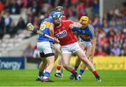 27 May 2018; Seán O'Donoghue of Cork in action against John McGrath of Tipperary during the Munster GAA Hurling Senior Championship Round 2 match between Tipperary and Cork at Semple Stadium in Thurles, Tipperary. Photo by Daire Brennan/Sportsfile