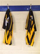 27 May 2018; A general view of Kilkenny jerseys in the dressing room before the Leinster GAA Hurling Senior Championship Round 3 match between Galway and Kilkenny at Pearse Stadium in Galway. Photo by Piaras Ó Mídheach/Sportsfile