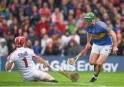 27 May 2018; Anthony Nash of Cork in action against John O'Dwyer of Tipperary during the Munster GAA Hurling Senior Championship Round 2 match between Tipperary and Cork at Semple Stadium in Thurles, Tipperary. Photo by Eóin Noonan/Sportsfile