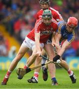 27 May 2018; Mark Coleman of Cork in action against Billy McCarthy of Tipperary during the Munster GAA Hurling Senior Championship Round 2 match between Tipperary and Cork at Semple Stadium in Thurles, Tipperary. Photo by Eóin Noonan/Sportsfile