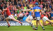 27 May 2018; Jake Morris of Tipperary scoring a late point point to draw the game during the Munster GAA Hurling Senior Championship Round 2 match between Tipperary and Cork at Semple Stadium in Thurles, Tipperary. Photo by Eóin Noonan/Sportsfile