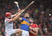 27 May 2018; Anthony Nash of Cork in action against Seamus Callanan of Tipperary during the Munster GAA Hurling Senior Championship Round 2 match between Tipperary and Cork at Semple Stadium in Thurles, Tipperary. Photo by Eóin Noonan/Sportsfile