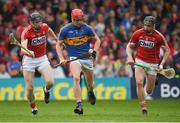 27 May 2018; Billy McCarthy of Tipperary in action against Damien Cahalane of Cork during the Munster GAA Hurling Senior Championship Round 2 match between Tipperary and Cork at Semple Stadium in Thurles, Tipperary. Photo by Eóin Noonan/Sportsfile