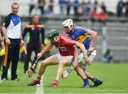 27 May 2018; Mark Coleman of Cork in action against Patrick Maher of Tipperary during the Munster GAA Hurling Senior Championship Round 2 match between Tipperary and Cork at Semple Stadium in Thurles, Tipperary. Photo by Daire Brennan/Sportsfile