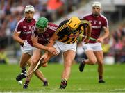 27 May 2018; Colin Fennelly of Kilkenny in action against Adrian Tuohy of Galway during the Leinster GAA Hurling Senior Championship Round 3 match between Galway and Kilkenny at Pearse Stadium in Galway. Photo by Piaras Ó Mídheach/Sportsfile