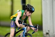 27 May 2018; Brendan McGuinness, from Walterstown - Johnstown, Co. Meath, competing in the Duathlon during Day 2 of the Aldi Community Games May Festival, which saw over 3,500 children take part in a fun-filled weekend at University of Limerick from 26th to 27th May.  Photo by Diarmuid Greene/Sportsfile
