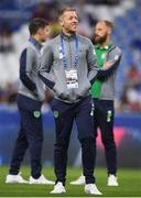 28 May 2018; Shane Supple of Republic of Ireland prior to the International Friendly match between France and Republic of Ireland at Stade de France in Paris, France. Photo by Stephen McCarthy/Sportsfile