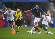 28 May 2018; Shaun Williams of the Republic of Ireland in action against Steven Nzonzi of France during the International Friendly match between France and Republic of Ireland at Stade de France in Paris, France. Photo by Stephen McCarthy/Sportsfile