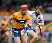 27 May 2018; John Conlon of Clare in action against Barry Coughlan of Waterford during the Munster GAA Hurling Senior Championship Round 2 match between Clare and Waterford at Cusack Park in Ennis, Co Clare. Photo by Ray McManus/Sportsfile