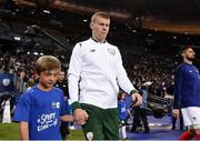 28 May 2018; Republic of Ireland's James McClean prior to the International Friendly match between France and Republic of Ireland at Stade de France in Paris, France. Photo by Stephen McCarthy/Sportsfile