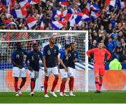 28 May 2018; Colin Doyle of Republic of Ireland reacts after conceding a goal during the International Friendly match between France and Republic of Ireland at Stade de France in Paris, France. Photo by Seb Daly/Sportsfile