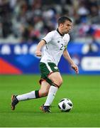28 May 2018; Seamus Coleman of Republic of Ireland during the International Friendly match between France and Republic of Ireland at Stade de France in Paris, France. Photo by Seb Daly/Sportsfile