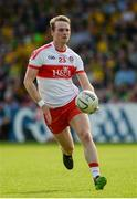 27 May 2018; Liam McGoldrick of Derry during the Ulster GAA Football Senior Championship Quarter-Final match between Derry and Donegal at Celtic Park in Derry. Photo by Oliver McVeigh/Sportsfile