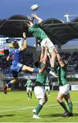 30 May 2018; Jack Dunne of Ireland during the World Rugby U20 Championship 2018 Pool C match between France and Ireland at the Stade Aime Giral in Perpignan, France. Photo by Sportsfile