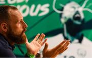 31 May 2018; David Meyler during a Republic of Ireland press conference at the FAI National Training Centre in Abbotstown, Dublin. Photo by Stephen McCarthy/Sportsfile