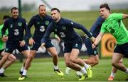 1 June 2018; Shane Duffy during Republic of Ireland training at the FAI National Training Centre in Abbotstown, Dublin. Photo by Stephen McCarthy/Sportsfile