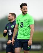 1 June 2018; Greg Cunningham during Republic of Ireland training at the FAI National Training Centre in Abbotstown, Dublin. Photo by Stephen McCarthy/Sportsfile