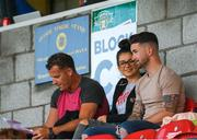 1 June 2018; Republic of Ireland and Preston North End striker Sean Maguire, right, with his girlfriend Claudia Rose Long prior to the SSE Airtricity League Premier Division match between Cork City and Waterford at Turner's Cross, Cork. Photo by Eóin Noonan/Sportsfile