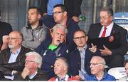 1 June 2018; Republic of Ireland manager Martin O'Neill and Republic of Ireland goalkeeping coach Seamus McDonagh during the SSE Airtricity League Premier Division match between Shamrock Rovers and Dundalk at Tallaght Stadium in Dublin. Photo by Stephen McCarthy/Sportsfile
