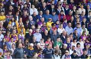2 June 2018; Wexford manager Davy Fitzgerald during the Leinster GAA Hurling Senior Championship Round 4 match between Wexford and Galway at Innovate Wexford Park in Wexford. Photo by Ramsey Cardy/Sportsfile