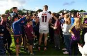 2 June 2018; Joe Canning of Galway signs autographs following the Leinster GAA Hurling Senior Championship Round 4 match between Wexford and Galway at Innovate Wexford Park in Wexford. Photo by Ramsey Cardy/Sportsfile