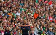 2 June 2018; Cork manager John Meyler during the Munster GAA Hurling Senior Championship Round 3 match between Cork and Limerick at Páirc Uí Chaoimh in Cork. Photo by Piaras Ó Mídheach/Sportsfile