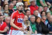 2 June 2018; Patrick Horgan of Cork reacts after hitting a wide during the Munster GAA Hurling Senior Championship Round 3 match between Cork and Limerick at Páirc Uí Chaoimh in Cork. Photo by Piaras Ó Mídheach/Sportsfile