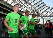 2 June 2018; Declan Rice of Republic of Ireland prior to the International Friendly match between Republic of Ireland and the United States at the Aviva Stadium in Dublin. Photo by Stephen McCarthy/Sportsfile