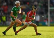 2 June 2018; Colm Spillane of Cork in action against Kyle Hayes of Limerick during the Munster GAA Hurling Senior Championship Round 3 match between Cork and Limerick at Páirc Uí Chaoimh in Cork. Photo by Piaras Ó Mídheach/Sportsfile