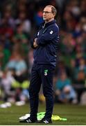2 June 2018; Republic of Ireland manager Martin O'Neill during the International Friendly match between Republic of Ireland and the United States at the Aviva Stadium in Dublin.  Photo by Eóin Noonan/Sportsfile
