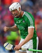 2 June 2018; Kyle Hayes of Limerick celebrates scoring the equalising point late in the game during the Munster GAA Hurling Senior Championship Round 3 match between Cork and Limerick at Páirc Uí Chaoimh in Cork. Photo by Piaras Ó Mídheach/Sportsfile
