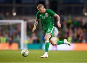 2 June 2018; James McClean of Republic of Ireland during the International Friendly match between Republic of Ireland and the United States at the Aviva Stadium in Dublin. Photo by Seb Daly/Sportsfile