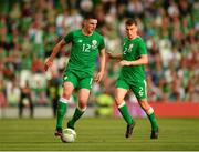 2 June 2018; Declan Rice of Republic of Ireland during the International Friendly match between Republic of Ireland and the United States at the Aviva Stadium in Dublin. Photo by Seb Daly/Sportsfile