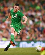 2 June 2018; Declan Rice of Republic of Ireland during the International Friendly match between Republic of Ireland and the United States at the Aviva Stadium in Dublin. Photo by Stephen McCarthy/Sportsfile