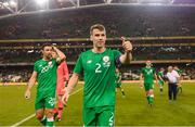 2 June 2018; Seamus Coleman of Republic of Ireland following the International Friendly match between Republic of Ireland and the United States at the Aviva Stadium in Dublin. Photo by Stephen McCarthy/Sportsfile