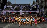 3 June 2018; Participants at the start of the 2018 Vhi Women's Mini Marathon. 30,000 women from all over the country took to the streets of Dublin to run, walk and jog the 10km route, raising much needed funds for hundreds of charities around the country. www.vhiwomensminimarathon.ie. Photo by Ramsey Cardy/Sportsfile