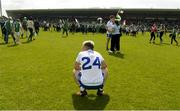 3 June 2018; Conor McCarthy of Monaghan dejected after the Ulster GAA Football Senior Championship Semi-Final match between Fermanagh and Monaghan at Healy Park in Omagh, Co Tyrone. Photo by Oliver McVeigh/Sportsfile